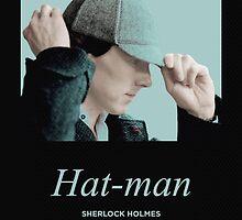 Hat-man, Sherlock Holmes by eely