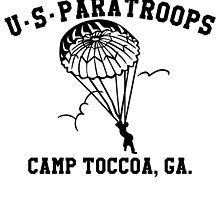 Camp Toccoa PT Shirt by Gilove2dance