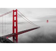 Misty Bridge Photographic Print