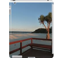 Boardwalk with a Tree with a View iPad Case/Skin