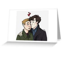 Nose smooches Greeting Card