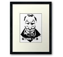 Psycho Clown Framed Print