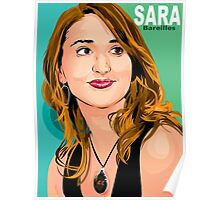 sara bareilles vector art Poster