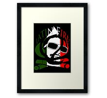GassyMexican Framed Print