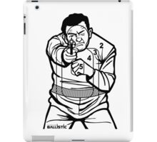 762Ballistic Target - The Thug iPad Case/Skin