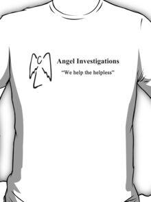 We Help the Helpless  T-Shirt