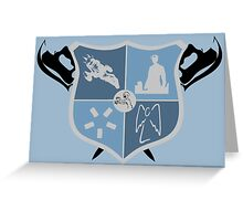 Joss Whedon Coat of Arms  Greeting Card