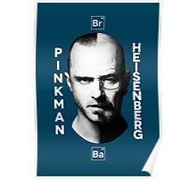 Breaking Bad - Pinkman & Heisenberg Poster