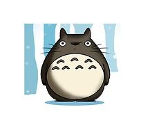 Blue Totoro by LTEP