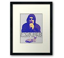 Pussy Framed Print