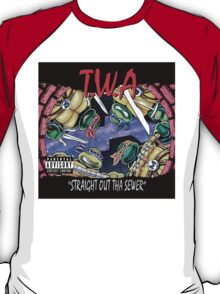 Teenage Mutant Ninja Turtles - T.W.A - Straight Out Tha Sewer T-Shirt
