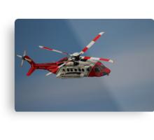 Sikorsky S-92 - Rescue 118 Metal Print