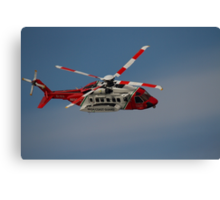 Sikorsky S-92 - Rescue 118 Canvas Print