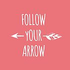 Follow Your Arrow by mallorybottesch