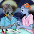 Betty's Galactic Hair and Nails Beauty Salon by Kim  Harris