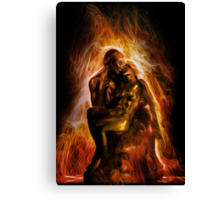 The Ashes and the Fire Canvas Print