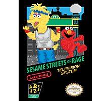 Sesame Streets of Rage Photographic Print