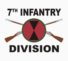 7th Infantry Division - Crossed Rifles by VeteranGraphics