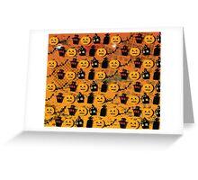 Halloween wallpaper Greeting Card