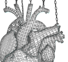 unchain my heart Sticker