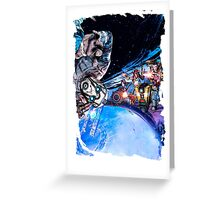 Borderlands - The Pre Sequel Greeting Card