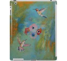 Hummingbird Dance iPad Case/Skin