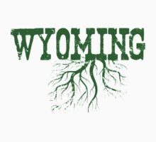Wyoming State Roots Kids Clothes