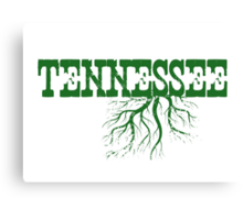Tennessee Roots Canvas Print