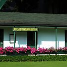 Lawn Bowling Club House by Marie Van Schie