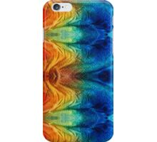Colorful Abstract Art Pattern - Color Wheels - By Sharon Cummings iPhone Case/Skin