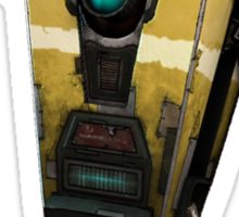 Borderlands - The Pre Sequel - Claptrap got Swag Sticker