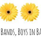 Boy Bands- floral by kklile12