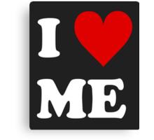 I Love Me Heart Canvas Print