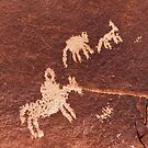 Wolf Ranch rock art .3 by Alex Preiss