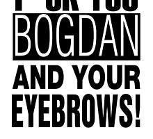 BrBa - Bogdan Eyebrows (BLACK) by WiseOut