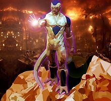Aliens Frieza Perfect Form by Dadang Lugu Mara Perdana