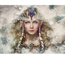 Epic Princess Zelda Painting Portrait Photographic Print