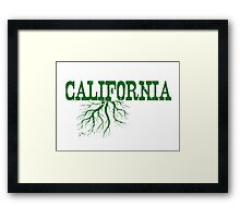 California Roots Framed Print