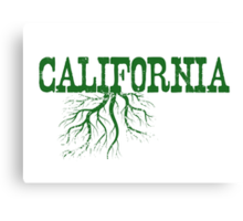 California Roots Canvas Print