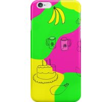 Color in the kitchen iPhone Case/Skin