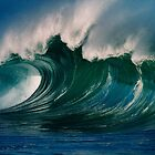 Winter Waves At Waimea Bay 2 by Alex Preiss