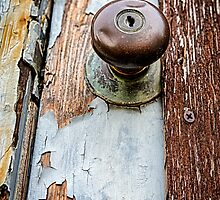 Dented Doorknob by Caitlyn Grasso