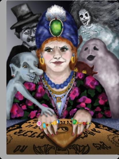 Madame Lovina's Haunted Talking Board by Kim  Harris