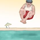 Uncle Max does a Cannonball  by Kim  Harris