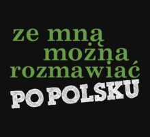 Language - Polish t shirt design 2 by gerardxxirwin