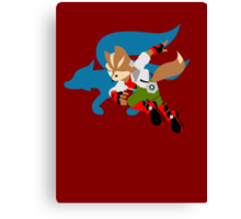 Super Smash Bros Fox Canvas Print