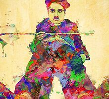 Charlie Chaplin by solnoirstudios