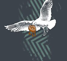 Seagulls Vs. Bagels by Chris Risse