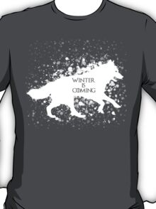 Winter is Coming (White) T-Shirt