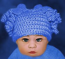ADORABLE BABY BLUE - PICTURE - CARD by ✿✿ Bonita ✿✿ ђєℓℓσ